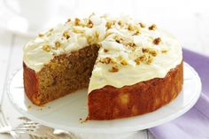 We've tweaked your favourite cafe cake for minimum guilt and maximum flavour!