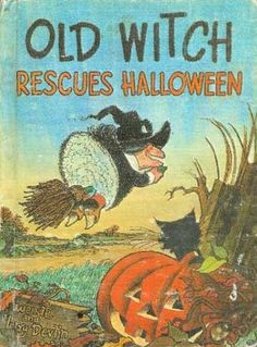 Old Witch Rescues Halloween