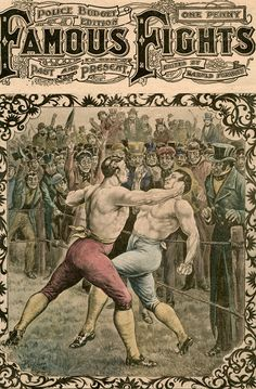 Fight between Dick Curtis and Jack Perkins by Pugnis