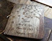 Handmade wooden book
