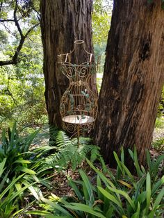 Whimsical garden art is dotted throughout Ferny Hill Retreat's gardens. Holiday Apartments, Garden S, Romantic Couples, Bird Feeders, Emerald, Whimsical, Clouds, In This Moment, Creative