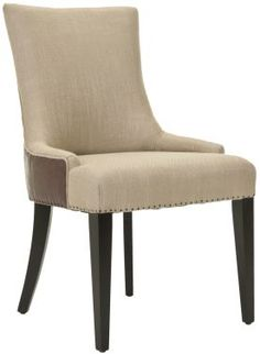 Alexia Fabric And Leather Dining Chair