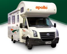 Current relocation special rates for RV Rentals from Apollo Motorhomes USA