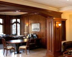 commercial office, architectural millwork, architectural woodwork, Boston, Massachusetts, New England