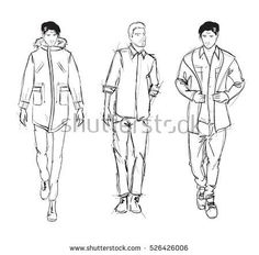 Architecture People, Line Drawing, Sketches, Drawings, Art, Fashion, Art Background, Moda, Fashion Styles