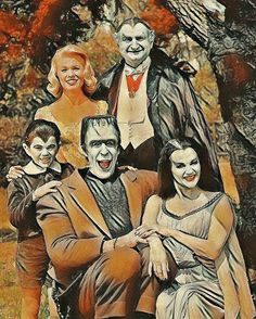 Munsters Tv Show, The Munsters, La Familia Munster, Halloween Eve, Halloween Ornaments, Herman Munster, Black Sheep Of The Family, Monster Squad, Yvonne De Carlo