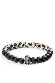 Gümüş Miğfer Motifli Mat Oniks ve Mat Akik Doğal Taşlı Bileklik Moda Mislina'da.. #men #fashion #bracelets #dogaltasbileklik #erkekmodasi #yenimodeller #products #moda #trend #bestof2015 #modamislina www.modamislina.com