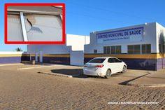 Santa Filomena Atual: Ato de vandalismo no Centro de Saúde de Santa Filo...
