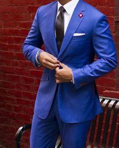 Bräutigam Anzug #anzug #brautigam Bräutigam anzug 3 Piece Tweed Suit, Tweed Suits, Groom And Groomsmen, Bride Groom, Royal Blue Suit, Wedding Inspiration, Wedding Ideas, Cool Outfits, Suit Jacket