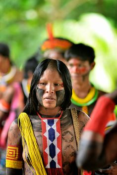 Notes from the Ethnoground: Indigenous Tribal People, Tribal Women, South American Women, Africa Tribes, Amazon People, Amazon Tribe, Xingu, Indigenous Tribes, Native Indian