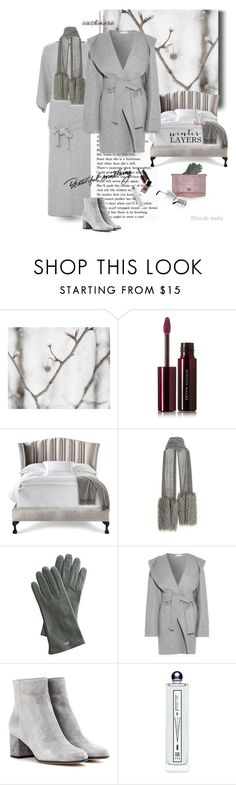 """Cold weather, warm heart .. please read"" by blonde-bedu ❤ liked on Polyvore featuring Kevyn Aucoin, Haute House, Mark & Graham, Barbara Casasola, Gianvito Rossi, Serge Lutens and Lonely"