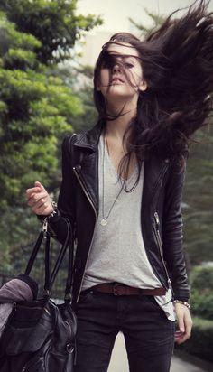 want leather jacket