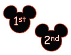 Here's a set of mouse-shaped ordinal number cards. Includes numeral and word cards. Mickey Mouse Classroom, Disney Classroom, New Classroom, Classroom Themes, Classroom Organization, Disney Theme, Disney Fun, Disney Bulletin Boards, Number Posters