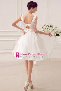 2015 wedding dresses bateau a line with handmade bowkont organza and satin