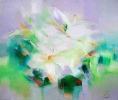 "Saatchi Art Artist Tatiana Bugaenko; Painting, ""Lilium"" #art"