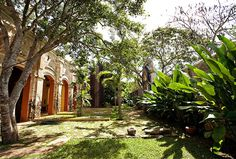Hacienda near Acanceh about 30 minutes from Merida available for vacation rentals at Best of Yucatan and Urbano Rentals