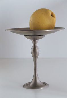 Vintage Pewter Fruit Bowl by 100decors on Etsy