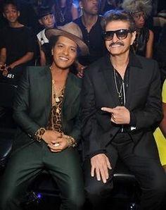 Bruno Mars & his dad  #empire #empiremariah  follow me on Instagram: @delempire1 twitter: @delempire1