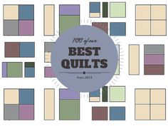 We know you've been waiting patiently (or not) for a sign to tell you what kind of quilt you should work up next. Thanks to these 100 of our Best Quilts from @favequilts you'll be all set in terms of quilting ideas.