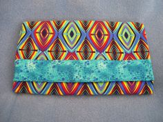 Items similar to Trifold Fabric Clutch Wallet with Diamonds on Etsy Clutch Wallet, Wallets, Diamonds, Trending Outfits, Unique Jewelry, Handmade Gifts, Fabric, Bags, Etsy