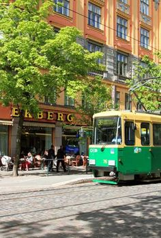 For a fairly small capital city (we have around 500 000 inhabitants) Helsinki has an extensive tram line. Ekberg is a wonderful old fashioned cafe opened in 1852.
