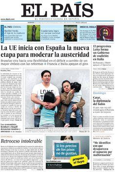El País - Domingo, 28 De Abril De 2013 Spanish | 67 Pages | PDF | 61.43 Mb