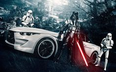 Vader has a car? ...... Clear why not?
