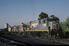 RailPictures.Net Photo: SBD 7200 Seaboard System GE U30C at Corbin, Kentucky by Ron Flanary