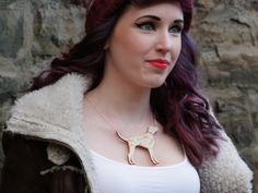 Runaway Fox - Dog Cuts Necklace, £20.00 (http://www.runawayfox.co.uk/dog-cuts-necklace/) Scottish Fashion Design