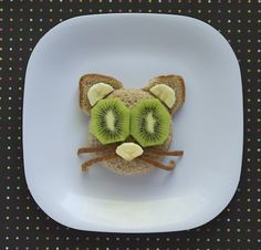 Purr-fect Kids Lunch: Green-Eyed Kitty   What's Cooking
