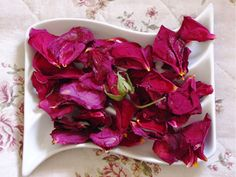 Make Rose-Potpourri at home and keep it in a bowl. My family used to do this after we got roses for our birthdays - after they wilted, we put the petals into a crystal bowl for decoration that has heart and meaning behind it.
