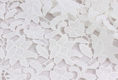 milk white wedding lace fabricflowers embroidered lacefloral