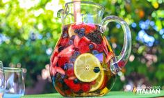 The Slow Roasted Italian - Printable Recipes: Summer Berry Sangria