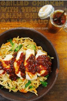 Grilled Chicken with Syn Free Chilli & Garlic Sticky Sauce - Slimming World - Syn Free - Recipe - Basement Bakehouse