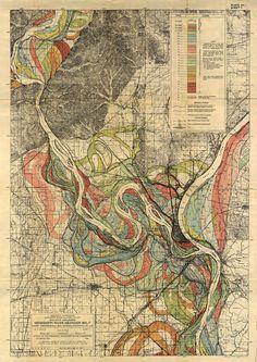 River Meander Mississippi River Mississippi River Meander