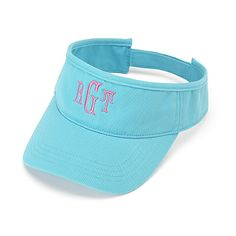 Ladies Visor www.southerncharmembroidery.com