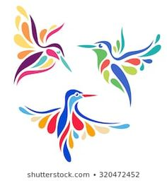 Find Stylized Birds stock images in HD and millions of other royalty-free stock photos, illustrations and vectors in the Shutterstock collection. Stencil Painting, Fabric Painting, Illustration Mignonne, Afrique Art, Quilling Patterns, Stained Glass Patterns, Applique Patterns, Stuffed Animal Patterns, Kingfisher