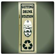 Getting Drunk Station Bottle Opener