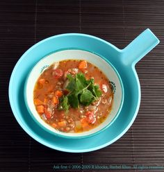 Spicy Lentil Soup by Rachel Khoo