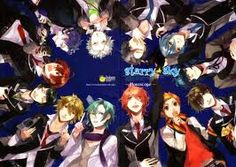 Starry Sky - at 10mins and ep and each 2 eps telling the story of one of the bishonen in this anime its easy to watch and the guys are very hot. But another bland girl that they all seem to love makes this lose its sparkly. But till then it is very good to slash and ignore the girl!!!