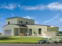 Construction maison contemporaine modèle Riva de 138.9 m2