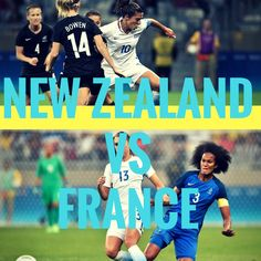 New Zealand vs France   #olympics #olympics2016 #rio2016 #soccer #football #futebol
