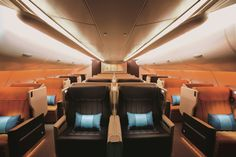 Ten best airlines to fly business class