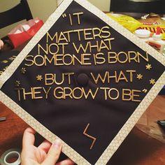 #graduation #gradcap #harrypotter