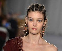 The beauty look behind Marchesa's Fall 2014 runway show