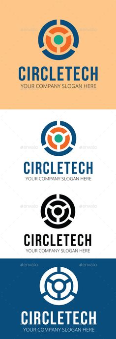 Circle Tech   Logo Design Template Vector #logotype Download it here: http://graphicriver.net/item/circle-tech-logo-template/10812896?s_rank=1201?ref=nesto