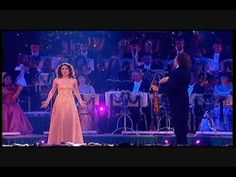 from the tour of Andre Rieu (Christmas Around The World) with Carmen Monarcha