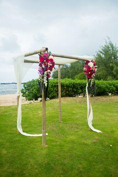 Loulu Palm- Hawaii destination wedding
