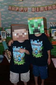 "Photo 3 of 14: MineCraft / Birthday ""Chase's Minecraft Bash"" | Catch My Party"