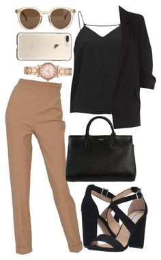 Designer Clothes, Shoes & Bags for Women Mode Outfits, Office Outfits, Fashion Outfits, Womens Fashion, Cute Casual Outfits, Stylish Outfits, Summer Outfits, Outing Outfit, Mode Ootd